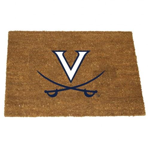 Virginia Cavaliers Colored Logo Door Mat