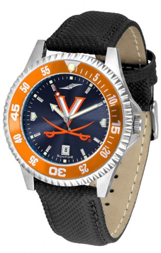 Virginia Cavaliers Competitor AnoChrome Men's Watch - Color Bezel