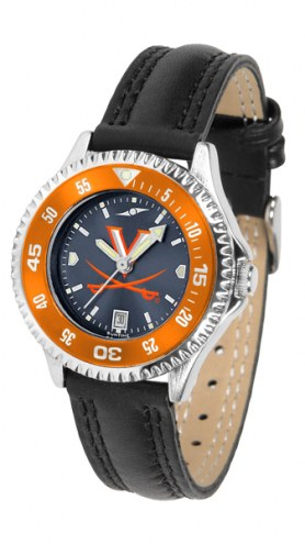 Virginia Cavaliers Competitor AnoChrome Women's Watch - Color Bezel