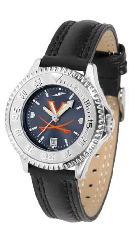 Virginia Cavaliers Competitor AnoChrome Women's Watch