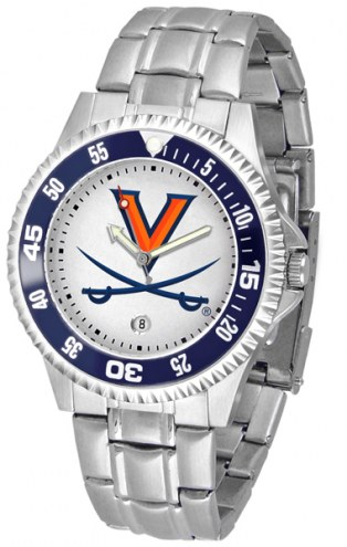 Virginia Cavaliers Competitor Steel Men's Watch