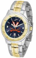 Virginia Cavaliers Competitor Two-Tone AnoChrome Men's Watch