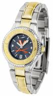 Virginia Cavaliers Competitor Two-Tone AnoChrome Women's Watch