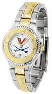 Virginia Cavaliers Competitor Two-Tone Women's Watch
