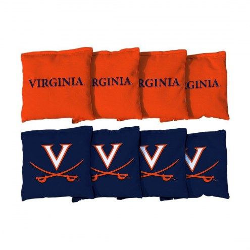 Virginia Cavaliers Cornhole Bag Set
