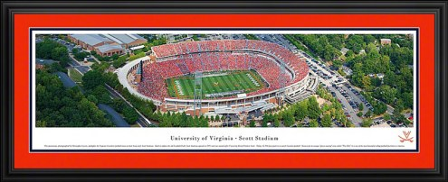 Virginia Cavaliers Deluxe Framed Panorama