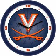 Virginia Cavaliers Dimension Wall Clock
