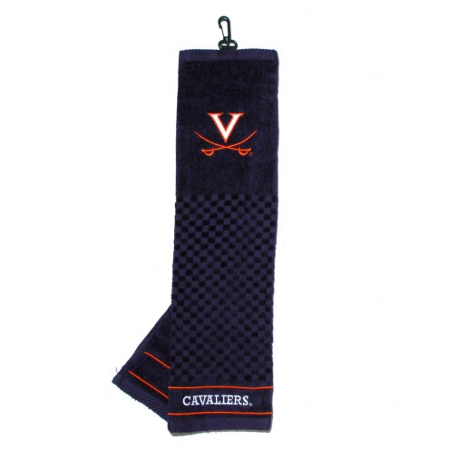 Virginia Cavaliers Embroidered Golf Towel