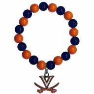 Virginia Cavaliers Fan Bead Bracelet