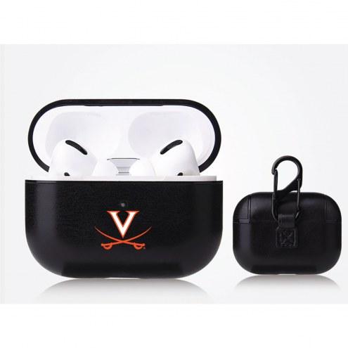 Virginia Cavaliers Fan Brander Apple Air Pod Pro Leather Case
