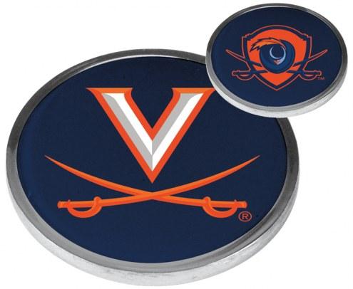 Virginia Cavaliers Flip Coin