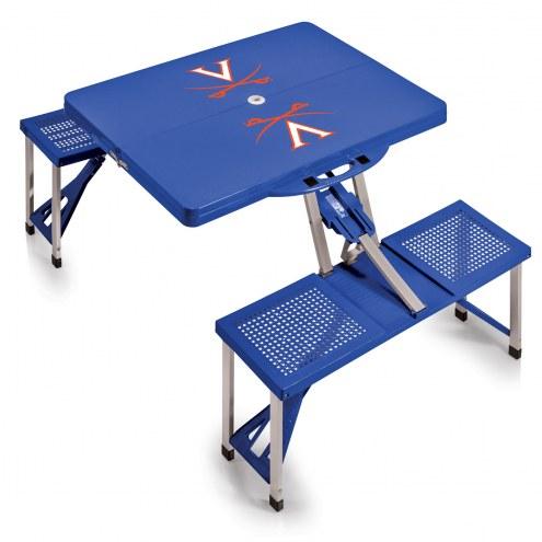 Virginia Cavaliers Folding Picnic Table