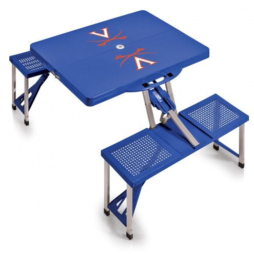 Virginia Cavaliers Folding Picnic Table