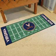 Virginia Cavaliers Football Field Runner Rug