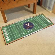 Virginia Cavaliers Football Field Runner Rug