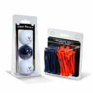 Virginia Cavaliers Golf Ball & Tee Pack