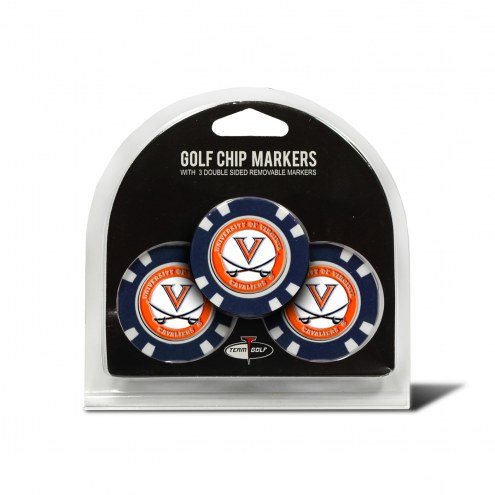 Virginia Cavaliers Golf Chip Ball Markers