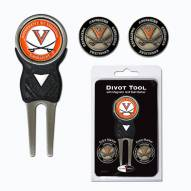 Virginia Cavaliers Golf Divot Tool Pack