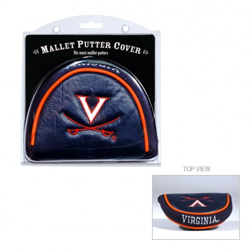 Virginia Cavaliers Golf Mallet Putter Cover