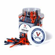 Virginia Cavaliers 175 Golf Tee Jar