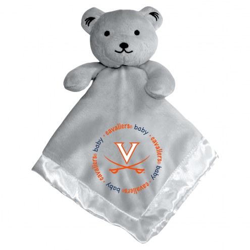Virginia Cavaliers Gray Infant Bear Security Blanket