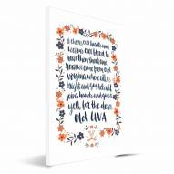 Virginia Cavaliers Hand-Painted Song Canvas Print