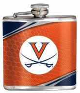 Virginia Cavaliers Hi-Def Stainless Steel Flask