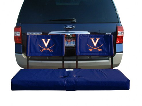 Virginia Cavaliers Tailgate Hitch Seat/Cargo Carrier