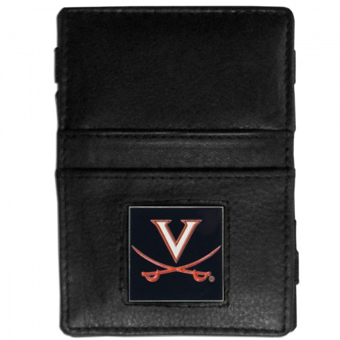 Virginia Cavaliers Leather Jacob's Ladder Wallet