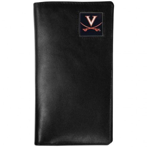 Virginia Cavaliers Leather Tall Wallet