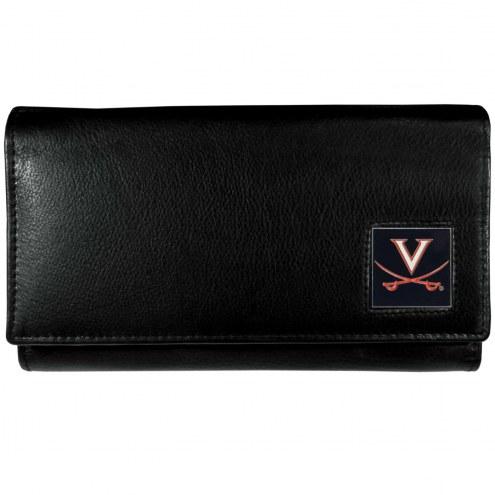 Virginia Cavaliers Leather Women's Wallet