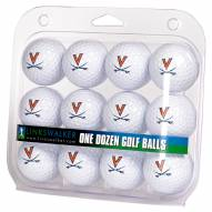 Virginia Cavaliers Dozen Golf Balls