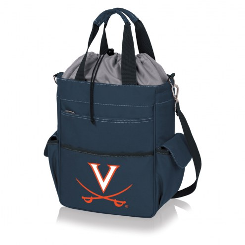 Virginia Cavaliers Navy Activo Cooler Tote