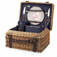 Virginia Cavaliers Navy Champion Picnic Basket