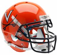 Virginia Cavaliers Orange Schutt XP Authentic Full Size Football Helmet
