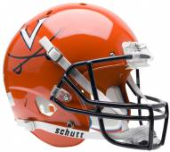 Virginia Cavaliers Orange Schutt XP Collectible Full Size Football Helmet