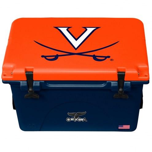 Virginia Cavaliers ORCA 40 Quart Cooler