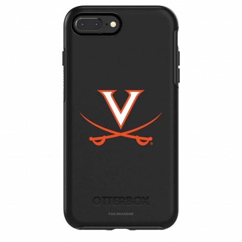 Virginia Cavaliers OtterBox iPhone 8/7 Symmetry Black Case