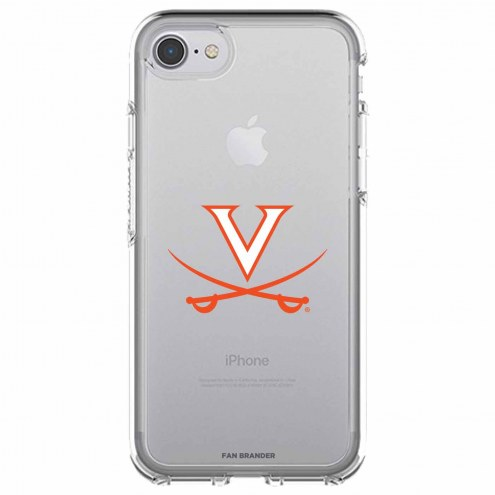 Virginia Cavaliers OtterBox iPhone 8/7 Symmetry Clear Case