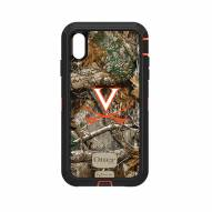 Virginia Cavaliers OtterBox iPhone XS Max Defender Realtree Camo Case