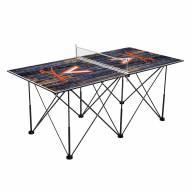 Virginia Cavaliers Pop Up 6' Ping Pong Table