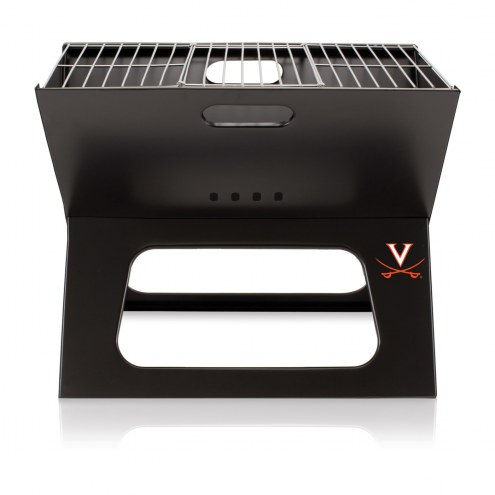 Virginia Cavaliers Portable Charcoal X-Grill
