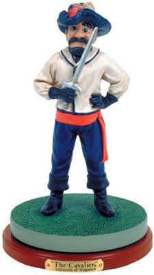Virginia Cavaliers Collectible Mascot Figurine