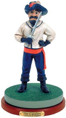 Virginia Cavaliers Collectible Mascot Figurine