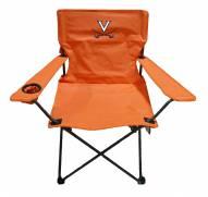 Virginia Cavaliers Rivalry Orange Folding Chair