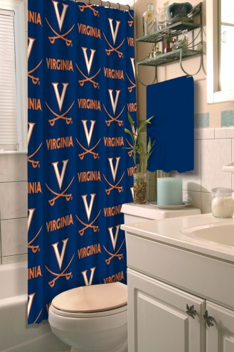 Virginia Cavaliers Shower Curtain