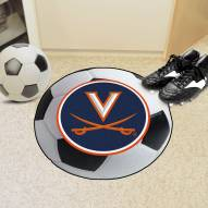 Virginia Cavaliers Soccer Ball Mat