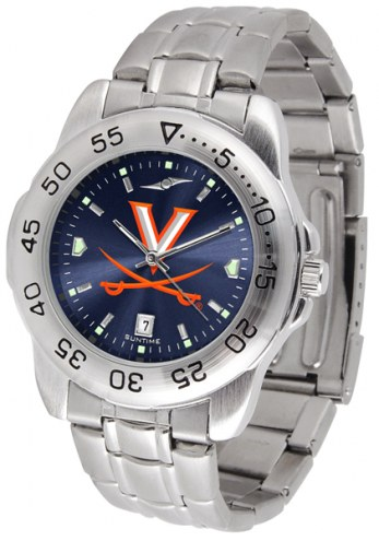 Virginia Cavaliers Sport Steel AnoChrome Men's Watch