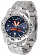 Virginia Cavaliers Sport Steel AnoChrome Men's Watch