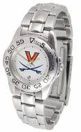 Virginia Cavaliers Sport Steel Women's Watch